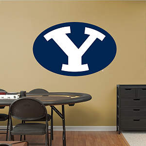 BYU Cougars Logo Fathead Wall Decal